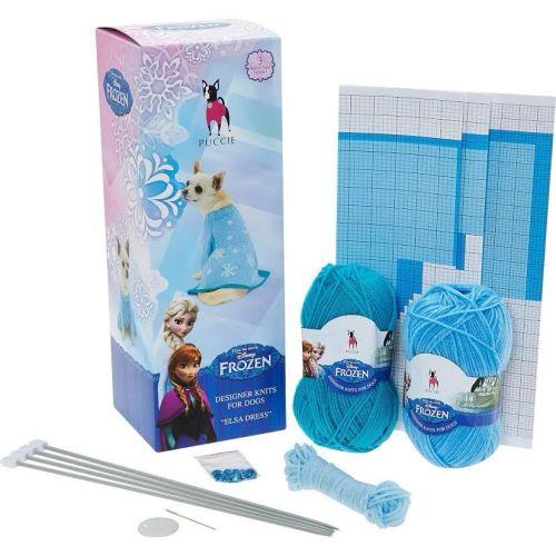 Puccie Designer Dog Coat - Frozen 'Elsa' complete kit