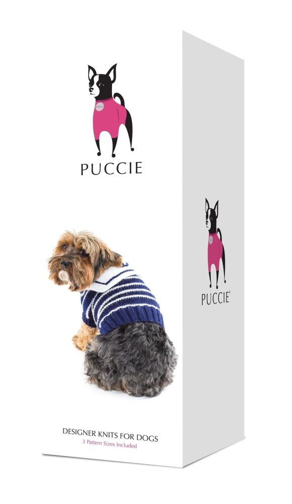 Puccie Designer Dog Coat - 'Hello Sailor' complete kit