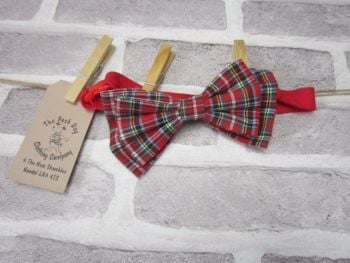 Handmade Posh Dog Bow Tie - 005