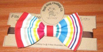 Handmade Posh Dog Bow Tie - 003