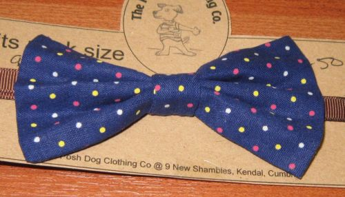 Handmade Posh Dog Bow Tie - 001