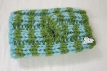 Hand Knitted Posh Dog Snood - 038 - size S