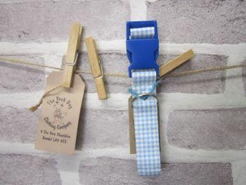Handmade Posh Dog Collar 025 - adjustable fabric collar
