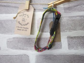 Handmade Posh Dog Collar 014 - adjustable fabric collar