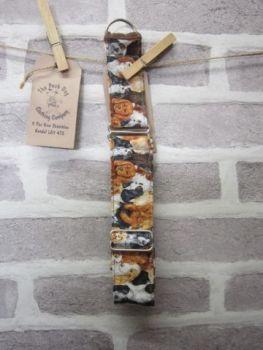 Handmade Posh Dog Collar 028 - Martingale Style