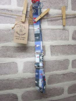 Handmade Posh Dog Collar 057 - Martingale Style