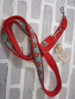 Handmade Posh Dog Lead 044 - Double ended long training lead
