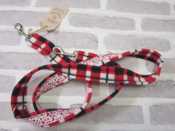 Handmade Posh Dog Lead 023 - Double ended long training lead