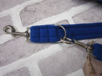 Handmade Posh Dog Lead 042 - Double ended long training lead