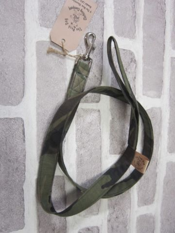 Handmade Posh Dog Lead 028 - fabric style