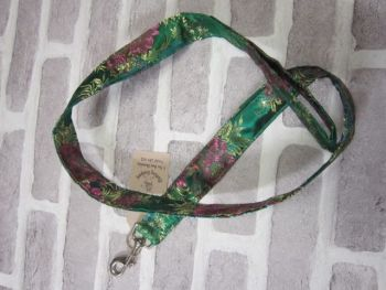 Handmade Posh Dog Lead 047 - show / wedding wear
