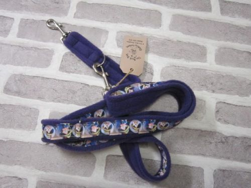 Handmade Posh Dog Lead 041 - Double ended long training lead