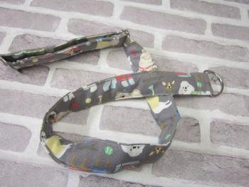 Posh Dog For You - handmade fabric Camera Strap 001