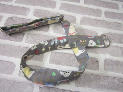 Posh Dog For You - handmade fabric Camera Strap