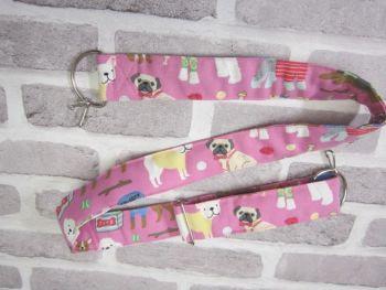 Posh Dog For You - handmade fabric Camera Strap 002