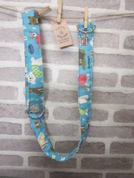 Posh Dog For You - handmade fabric Camera Strap 003