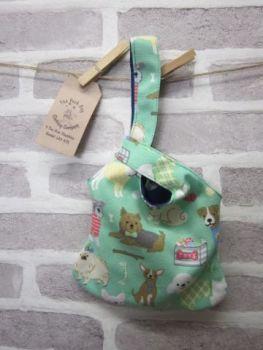 Posh Dog for You - bag 02 - Japanese Loop style handbag