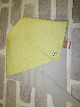 "Handmade Posh Dog Bandanna - 219 - Size 2 - fits up to neck size 15"""