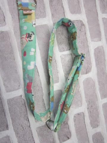 Posh Dog For You - handmade fabric Camera Strap 005