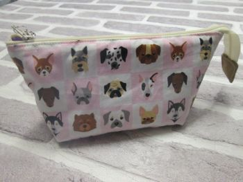 Posh Dog for you - wide mouth small fabric bag 01