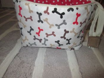 Posh Dog for you - wide mouth small fabric bag 04