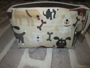 Posh Dog for you - wide mouth small fabric bag 05