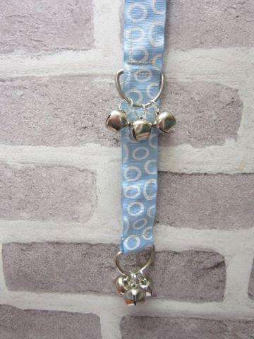 Handmade Posh Dog doggie doorbell training aid - 001