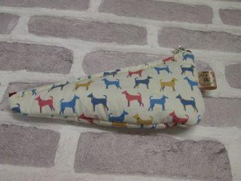 Posh Dog for you - Scissor keep fabric purse 01