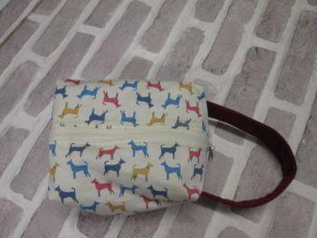Posh Dog for you - box shape fabric bag 03