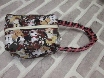 Posh Dog for you - box shape fabric bag 01