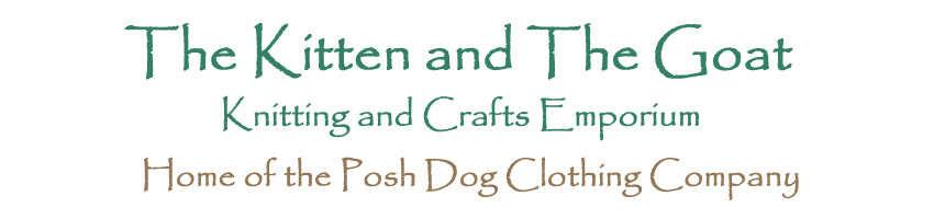 thekittenandthegoat, site logo.