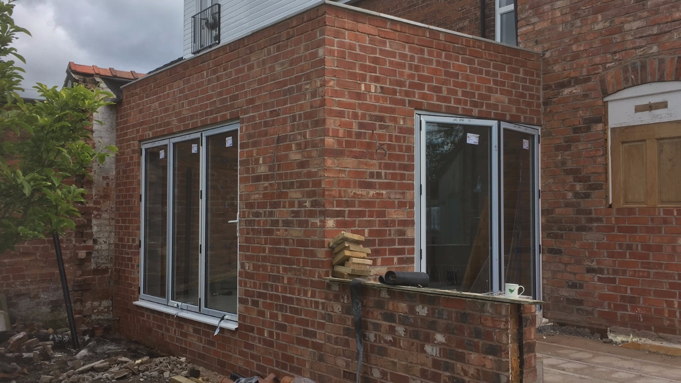 Kitchen extension in Chester 2018