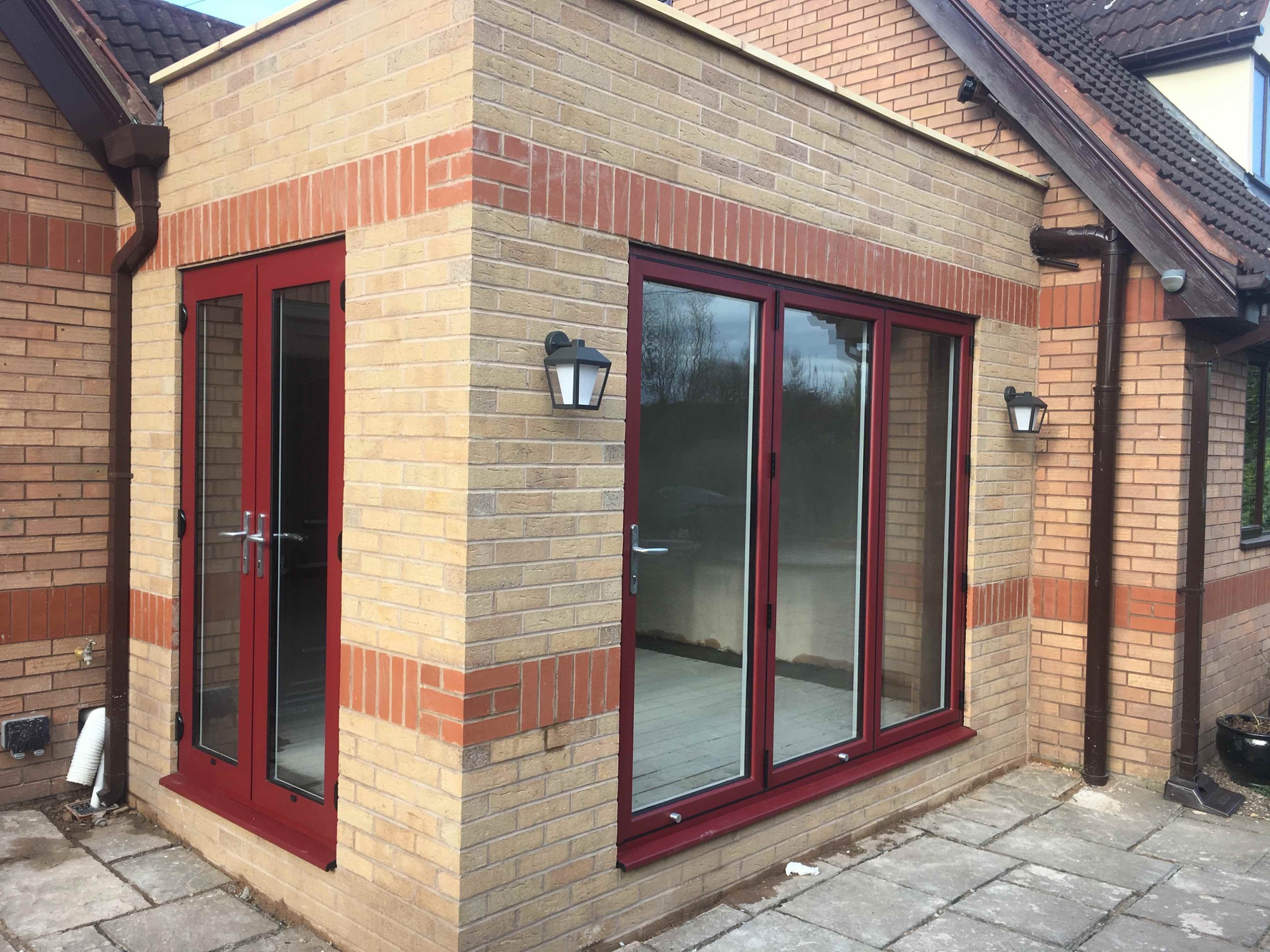 Kitchen Extension In Upton Chester