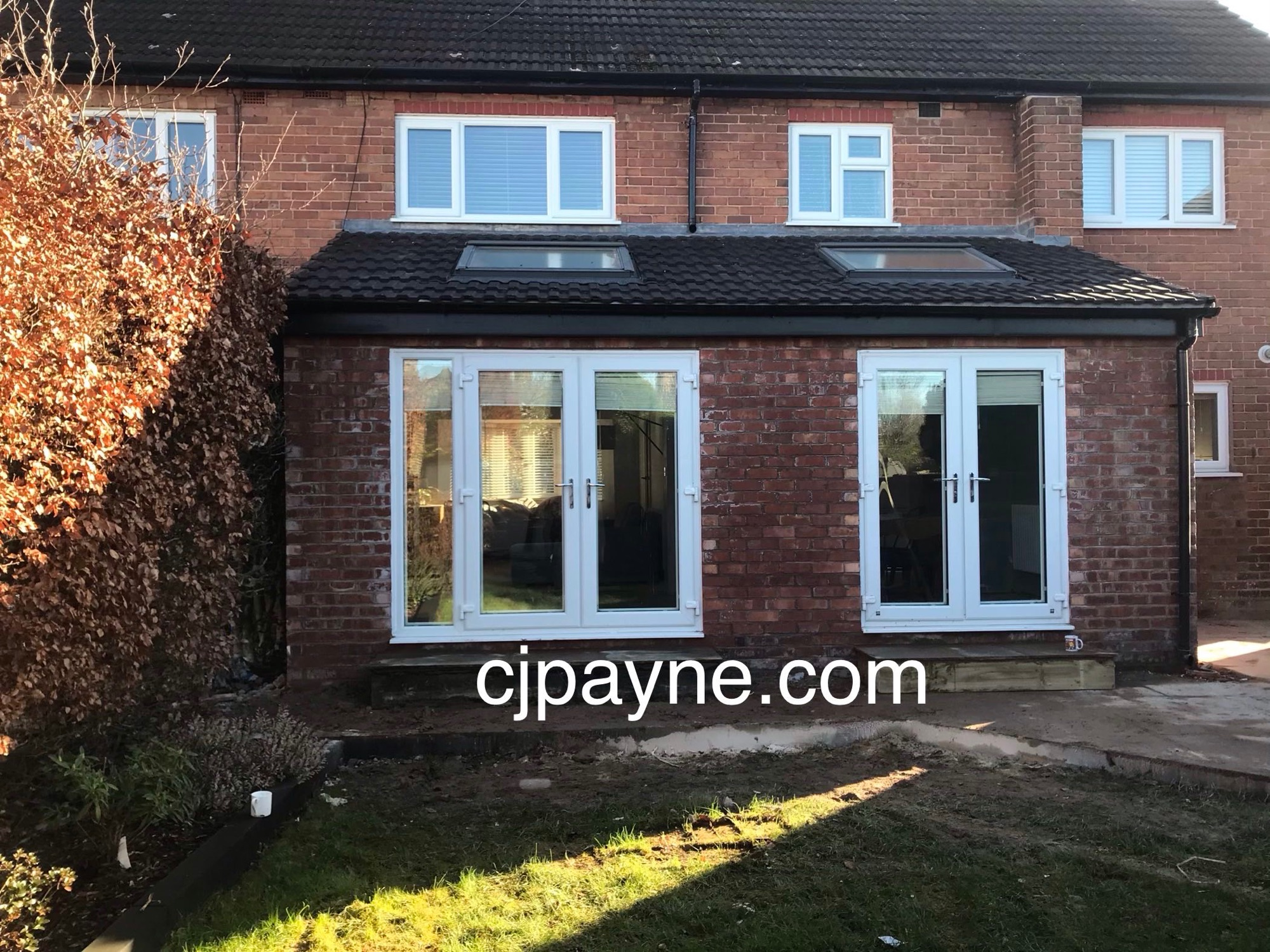 Rear extension in Curzon park