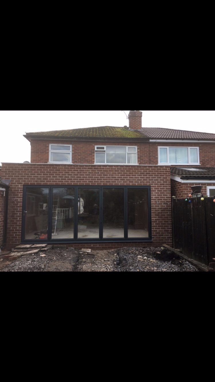 Rear extension in Boughton 2017