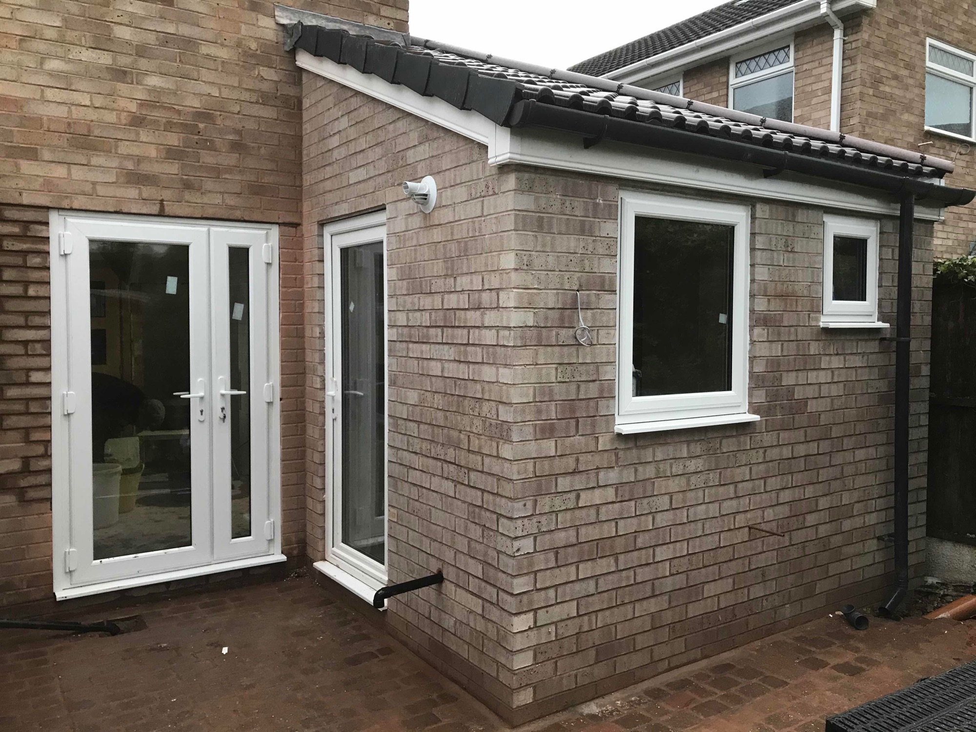 Kitchen and cloak room extension in Great Sutton 2019