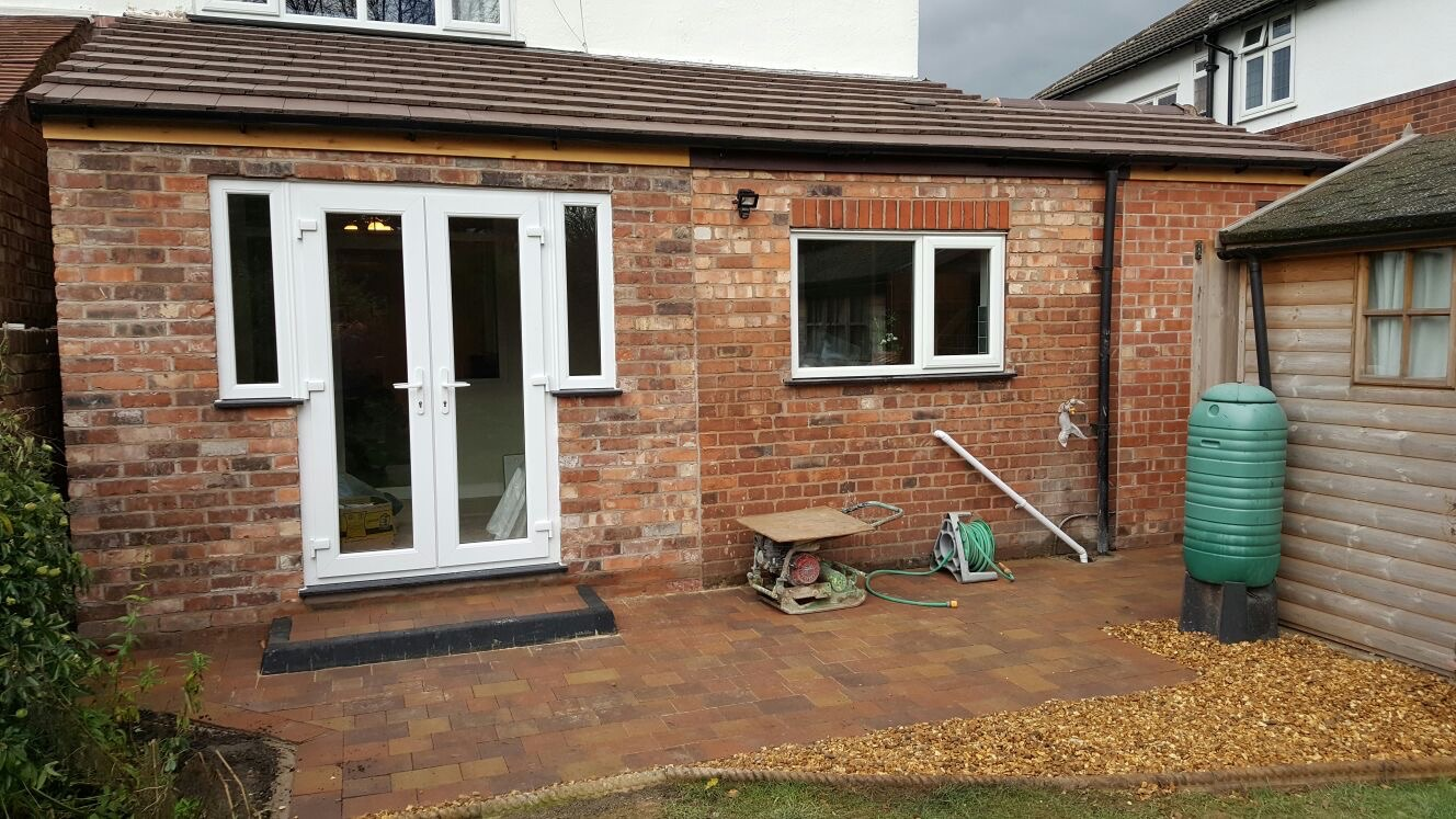 Living room extension in Hoole