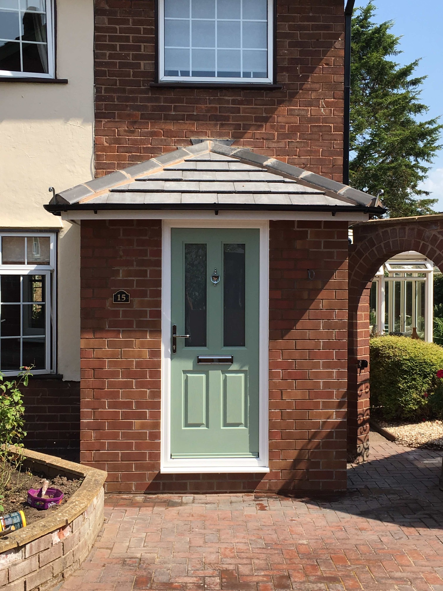 Entrance porch in Chester