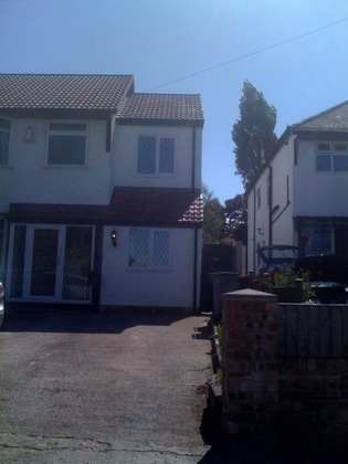 Extension over existing Garage in Heswall