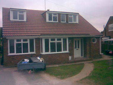 Side extension in Upton