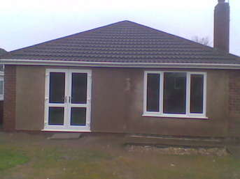 Bungalow extension in Saughall