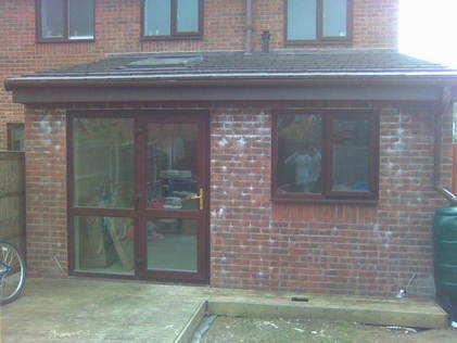 Kitchen extension in Boughton
