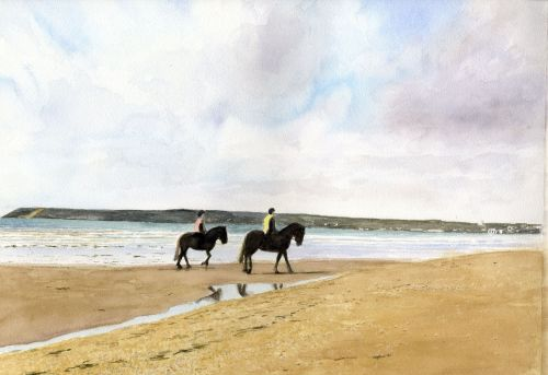 Riding at Long Rock, Penzance
