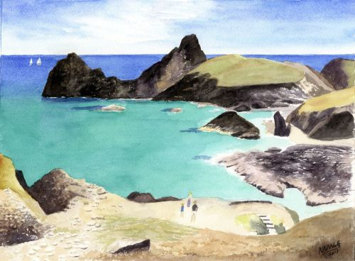 Cornish Coves: Kynance Cove, Lizard Peninsula