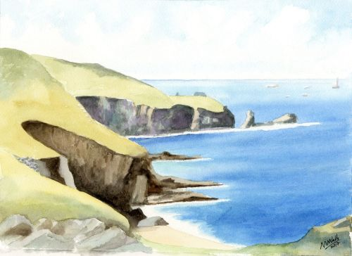 Cornish Coves: Land's End