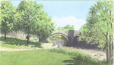 Harford Bridge, River Tavey