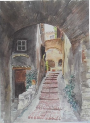 The Arch & Steps, Provence