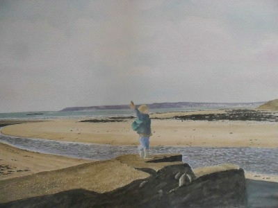 Throwing Stones, Marazion