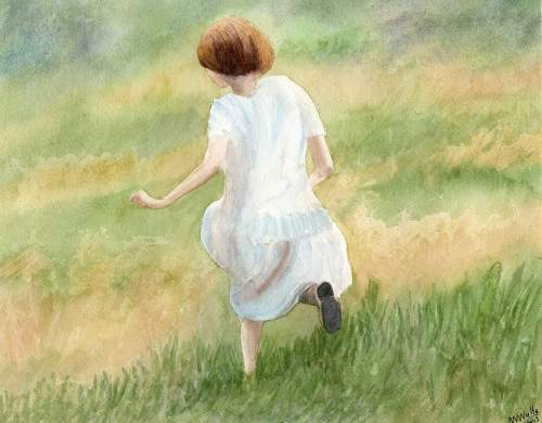 Running Through The Meadow