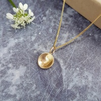 Teeny Tiny Gold Cup Necklace